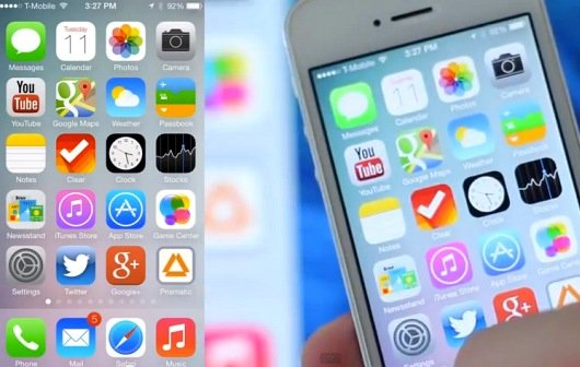 iOS 7: Erste Hands On-Videos