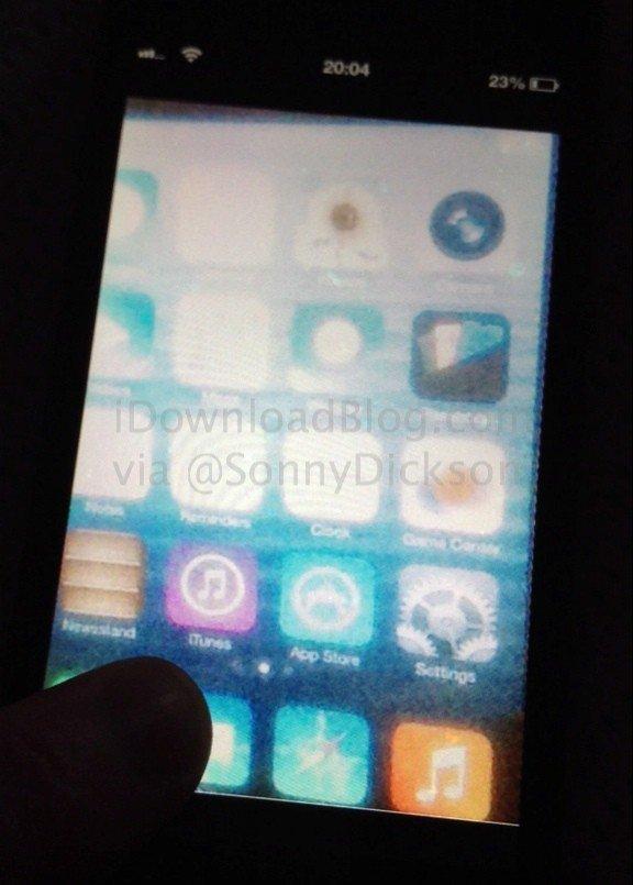 Spypic zeigt frühre Alpha-Version von iOS 7