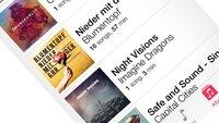 iOS 7: Das ist die neue Musik-App von Apple