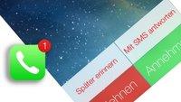 iOS 7: Das ist die neue Telefon-App des iPhones