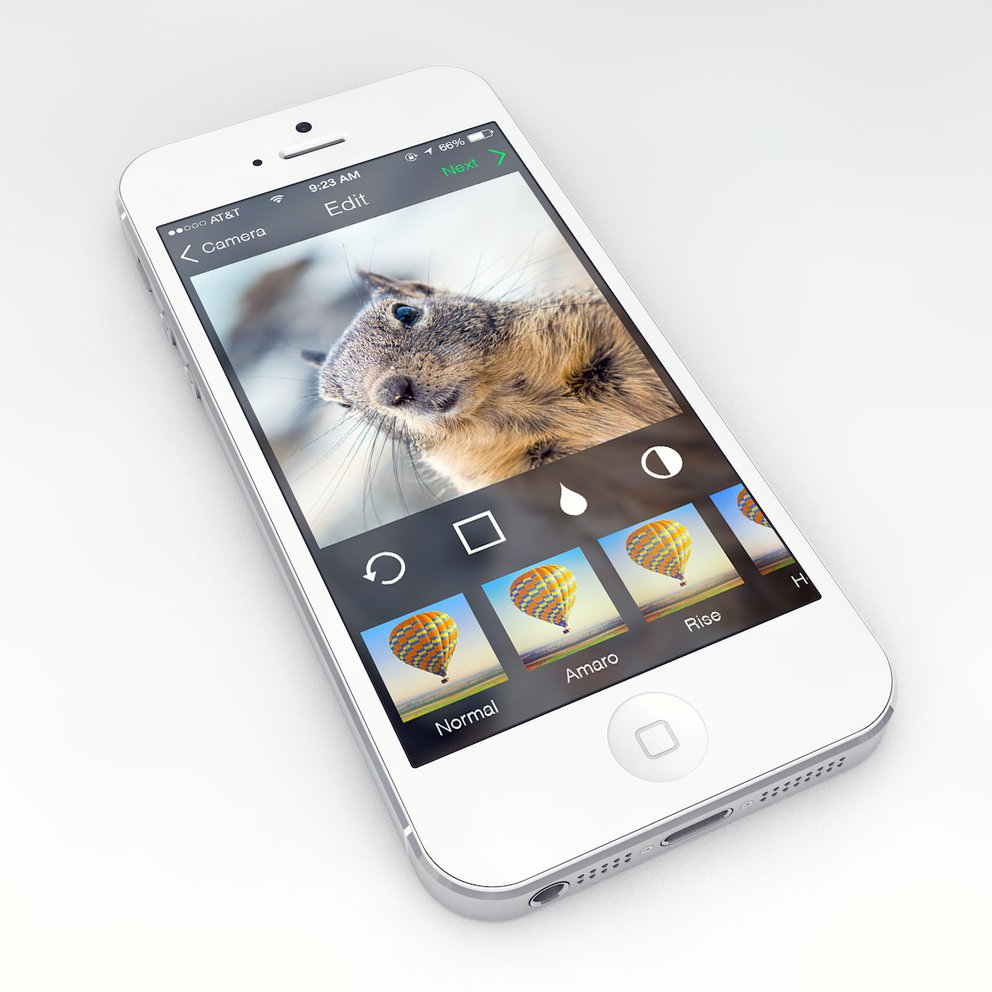 Instagram für iOS 7 - Konzept von Michal Vasko