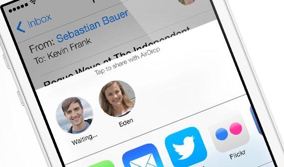 Apple startet Beta-Phase für AirDrop in OS X Yosemite