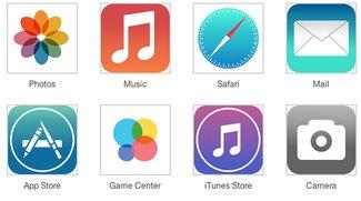 iOS 7: Vorabversion gesichtet, flache Symbole, zwei Farbschemata