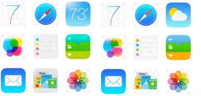 """iOS 7: """"Alte"""" Icons zwischenzeitlich auf Apple-Website aufgetaucht"""