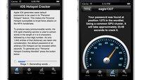 Persönlicher iPhone-Hotspot: Passwort in 50 Sekunden geknackt