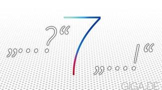 iOS 7: Eure Meinungen zum neuen Design