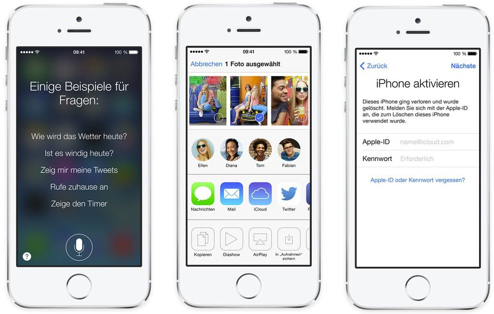 iOS 7: Siri - AirDrop - Mein iPhone, iPad, iPod touch suchen