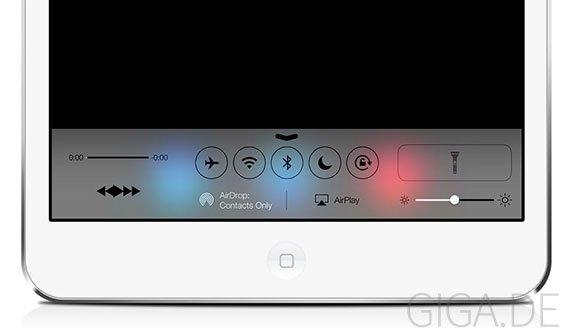 iOS 7 für iPad: Erste Screenshots aufgetaucht