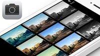 iOS 7 bietet zusätzliche Kamerafunktionen für Apps