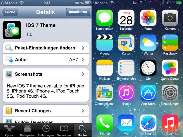 iOS 7 Theme