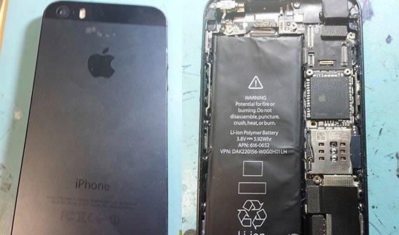 iPhone 5S: Fotos zeigen neues Logic Board, Dual-Blitz und größeren Akku