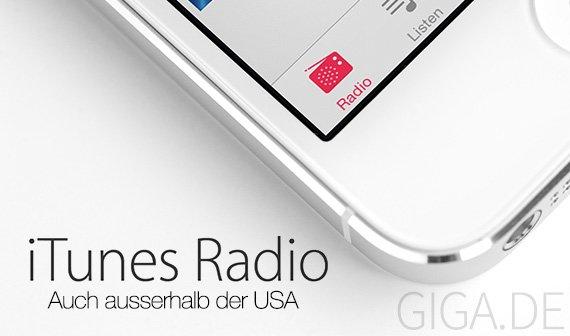 iOS 7: iTunes Radio in Deutschland kostenlos nutzen [Anleitung]