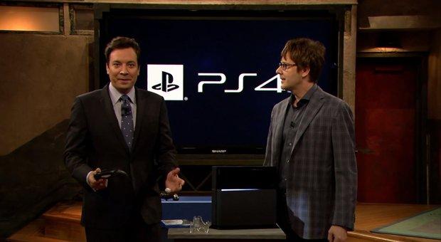 PS4: Mark Cerny und Knack zu Gast bei Jimmy Fallon
