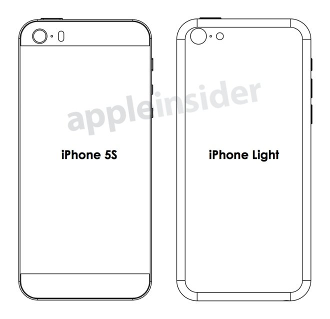 "Blaupausen für ""iPhone Light"" und ""iPhone 5S"""