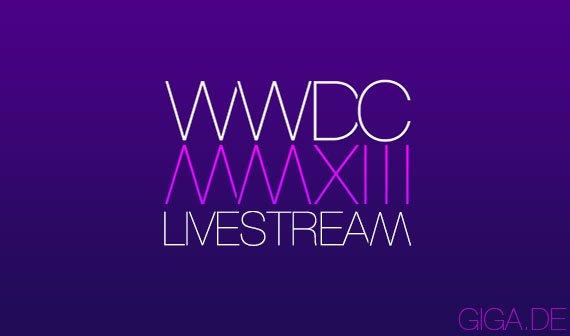 WWDC 2013: Livestream der Keynote angekündigt