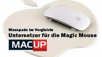 Mauspads im Vergleich: Untersetzer für die Magic Mouse (MACup)