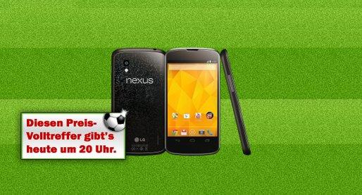 Nexus 4 heute Abend im Media Markt Deal