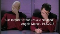 Och nö, Mutti: Merkel bezeichnet das Internet als #Neuland - die ganze Presseerklärung im Video (Update)