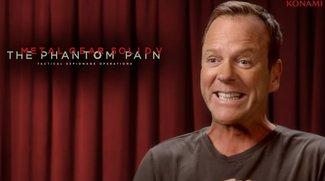 Metal Gear Solid V - The Phantom Pain: Kiefer Sutherland spricht Snake