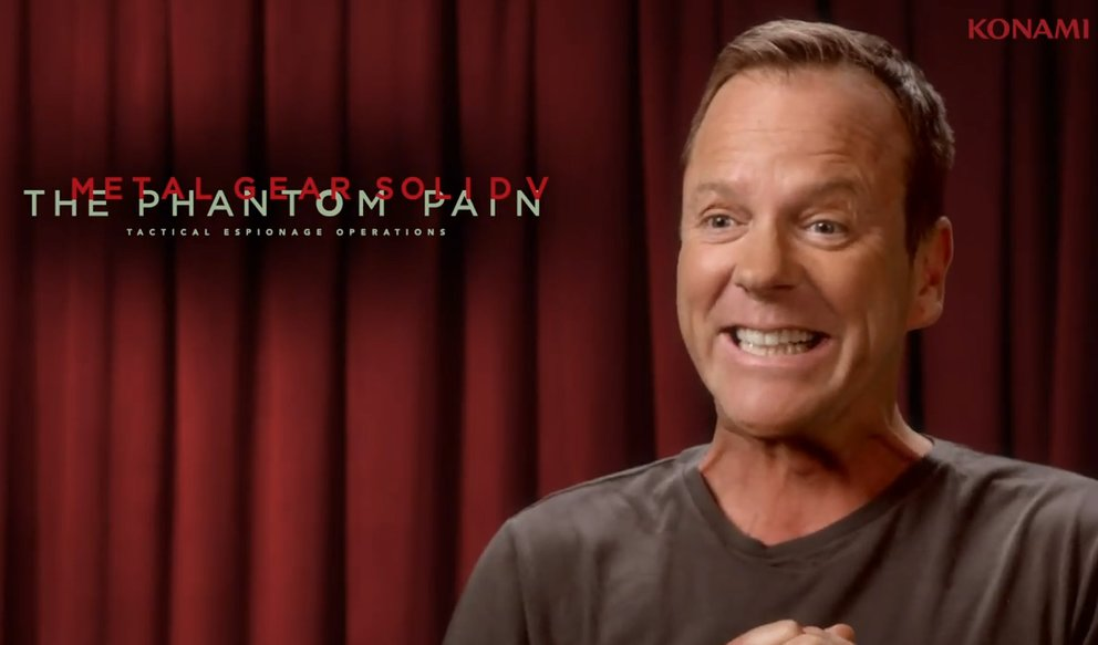 Metal Gear Solid V - The Phantom Pain: Kiefer Sutherland spricht Snake
