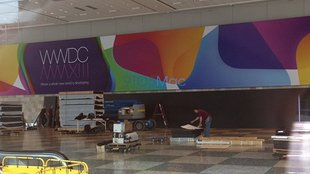 WWDC 2013: Apple dekoriert bereits das Moscone Center [Fotos]
