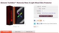 Moto X: Gerätebilder auf Website von Case-Hersteller aufgetaucht