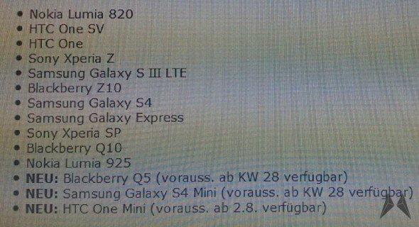 HTC One Mini: Start in Deutschland Anfang August [Gerücht]