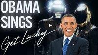 Get Lucky! Barack Obama singt den Hit von Daft Punk