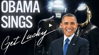 Get Lucky! Barack Obama singt den Hit von Daft Punk
