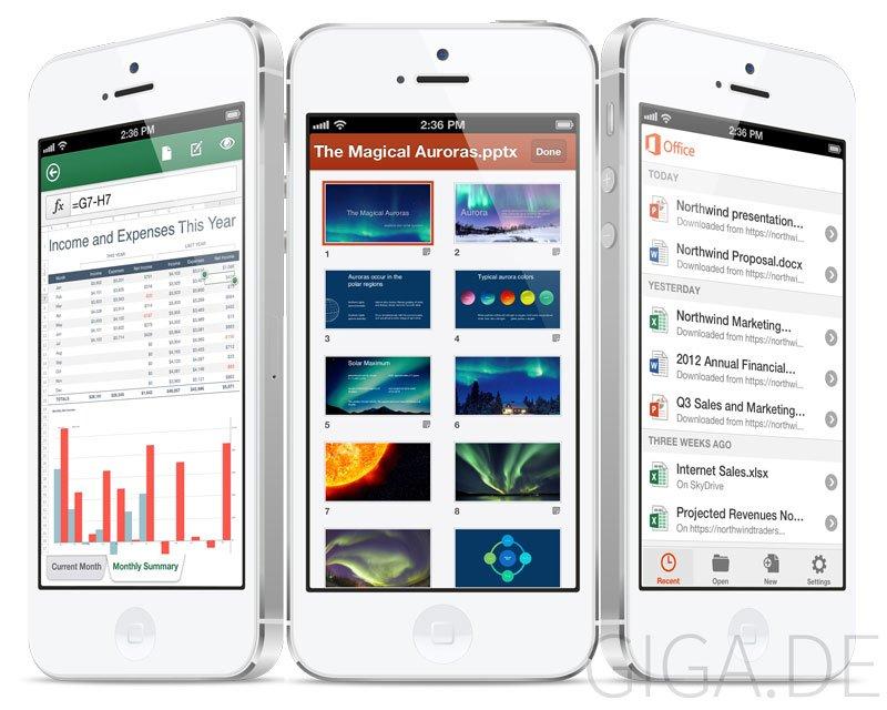 Microsoft Office 365 Mobile