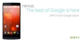 Oppo Find 5 Google Edition – Wunschdenken?