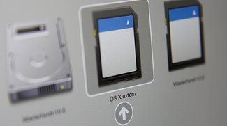 Mac OS X auf externe Festplatte installieren: So geht's