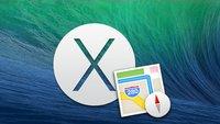 OS X 10.9 Mavericks: Alles, was ihr über Apple Maps für Mac wissen müsst