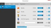 iPhone und iPad mit Windows synchronisieren (ohne iTunes): Phone Stick