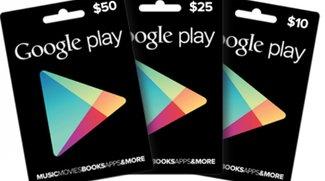 Play Store Geschenkkarten – ab heute in vielen Läden verfügbar