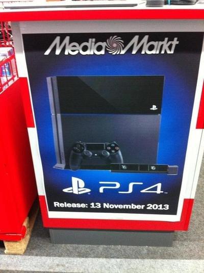 PS4: Release am 13. November?