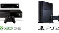 PlayStation 4 vs. Xbox One Infografik: Hardware, Spiele und Funktionen auf einen Blick
