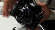 Samsung Galaxy NX: Spiegellose Systemkamera mit Wechselobjektiven und Android im Hands-On