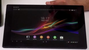 Sony Xperia Tablet Z: Ultraflache Flunder im Unboxing-Video