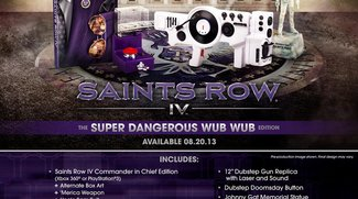 Saints Row 4: Collector's Edition kommt mit Dubstep Gun