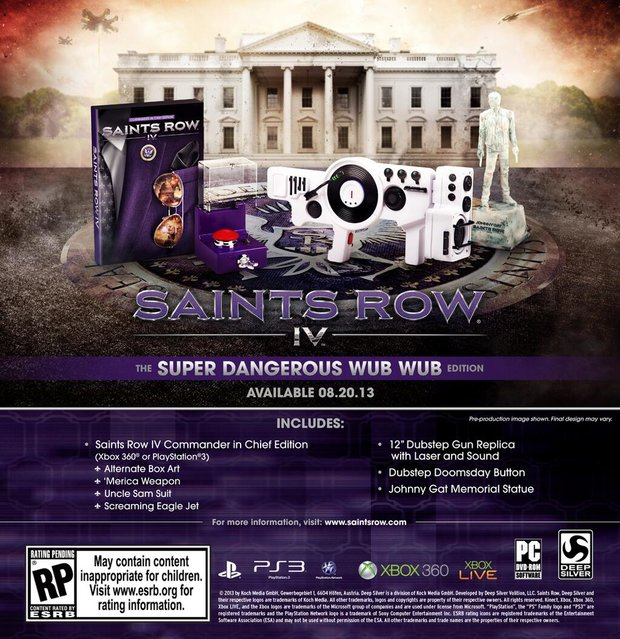 Saints Row 4: Collector's Edition kommt mit Dubstep Gun