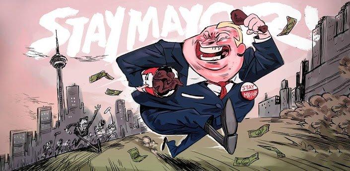 Stay Mayor: Kurioses Spiel um Crack-rauchenden Bürgermeister von Toronto. Moment, ... was?