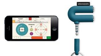 Urbanears Slussen: Gratis-App und DJ-Zubehör fürs iPhone