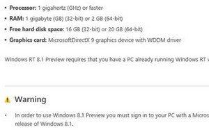 Windows 8.1 Update-Kompatibilität: Systemanforderungen enthüllt