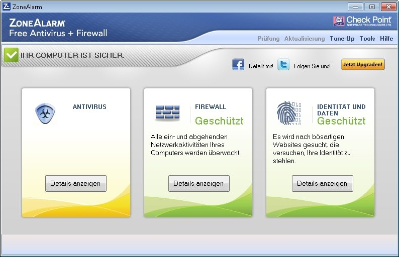 Firewall Zonealarm sicher
