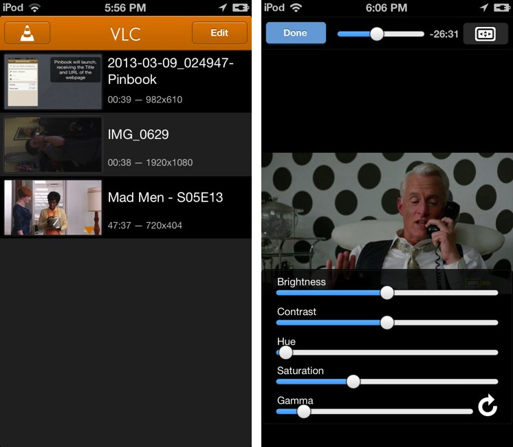 Die neue Version von VLC für iOS