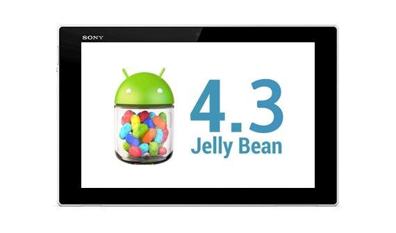 Android 4.3 schon jetzt für das Sony Xperia Tablet Z verfügbar - mit Einschränkungen