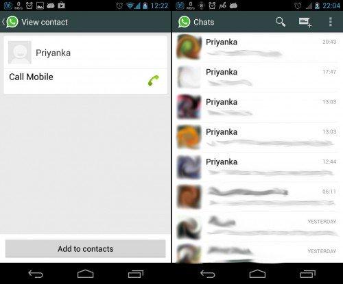 Priyanka WhatsApp