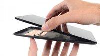 Neues Nexus 7 einfach zu reparieren