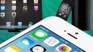 Apple-Neuheiten: Das kam 2013, das ist für 2014 in der Pipeline